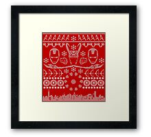 Have a MARVEL-ous Christmas! Framed Print