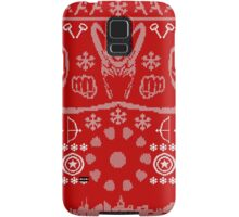 Have a MARVEL-ous Christmas! Samsung Galaxy Case/Skin
