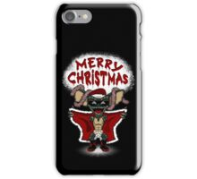 Flashing Through The Snow (colour/with text) iPhone Case/Skin
