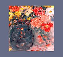 Flowers in Slate Vase by innocentorigina
