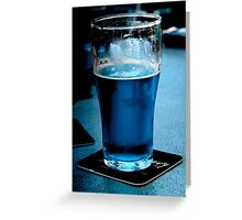 Cool Beer Greeting Card