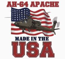 AH-64 Apache Made in the USA Kids Tee