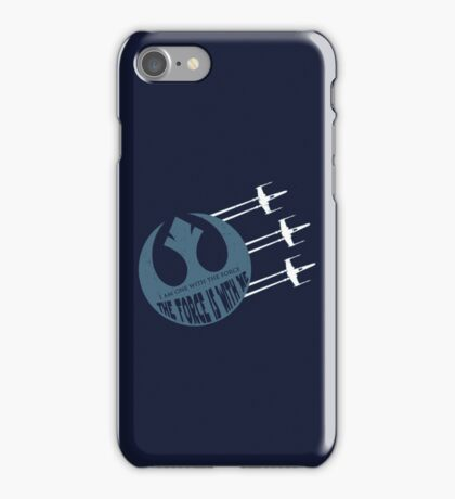 One with the Force iPhone Case/Skin