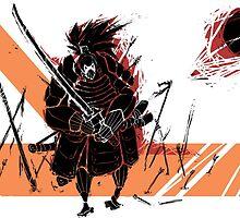 Battle Samurai by TheArtPanda