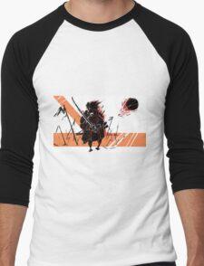 Battle Samurai Men's Baseball ¾ T-Shirt