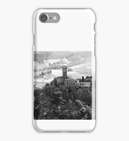Flying on Italian Castle on Piacenza's Hills iPhone Case/Skin