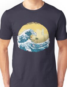 The Great Wave of Alola by AronTees Unisex T-Shirt