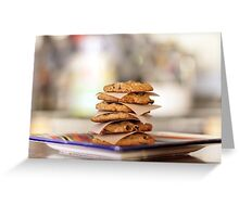 Oatmeal Chocolate Chip Cookies Greeting Card