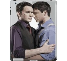 Ianto and Jack iPad Case/Skin
