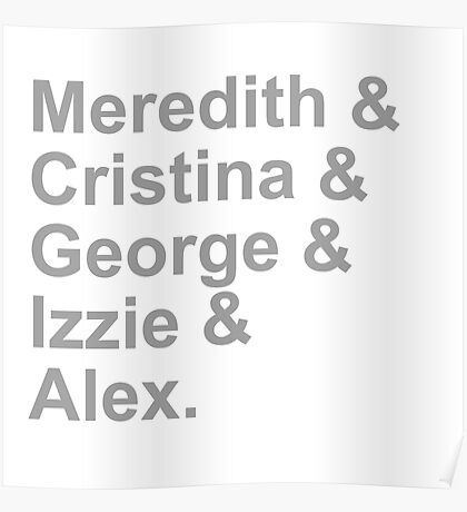 Grey's Squad Poster