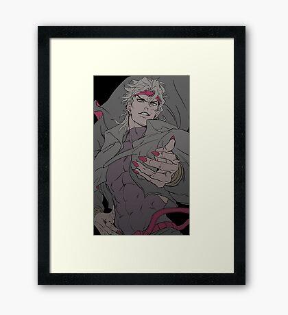 Dio Brando - Palette Swap Framed Print