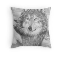 Playful Eyes Throw Pillow