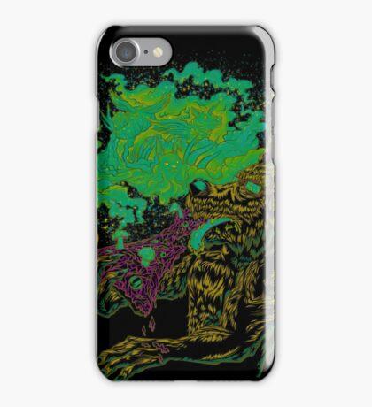 Trippy Wolf V2 iPhone Case/Skin