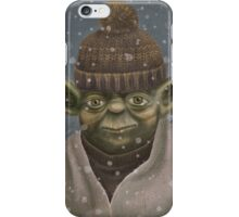 Christmas Yoda iPhone Case/Skin