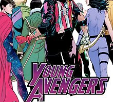 Young Avengers, I by novakstiels