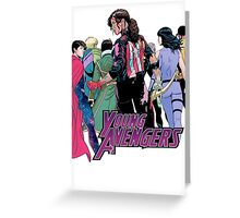 Young Avengers, I Greeting Card