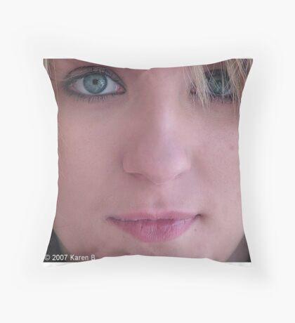 Headshot Throw Pillow