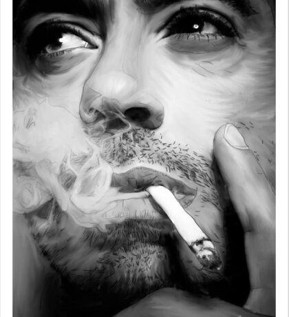 Robert Downey Jr. Digital Portrait Sticker