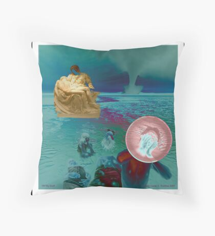 Oh My Goodness! Throw Pillow