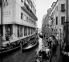 Rush Hour in Venice by Zeanana