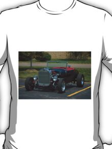 1927 Ford Model A Roadster Hot Rod T-Shirt