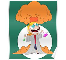Science goes Boom! Poster