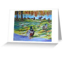 Guard Duck  Greeting Card