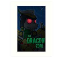 The Dragonzord Art Print