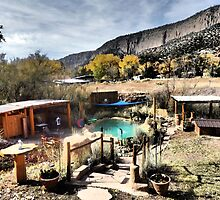 Giggling Springs in Jemez Springs, New Mexico by Marielle O'Brien
