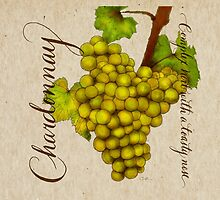 Wine Country Varietal Line from FountainArts™ : Chardonnay by Carol Fountain Nix