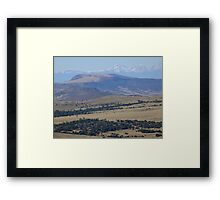 Hiking Capulin Volcano National Monument Framed Print