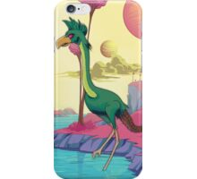 Space Bird. iPhone Case/Skin