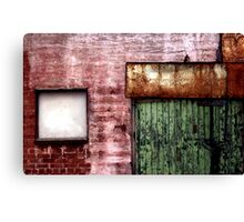 Old building facade, Richmond Canvas Print