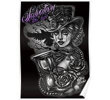 Steam punk Lady Poster