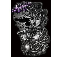 Steam punk Lady Photographic Print