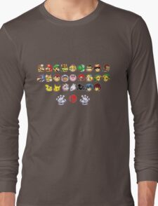 Melee Sprites Long Sleeve T-Shirt