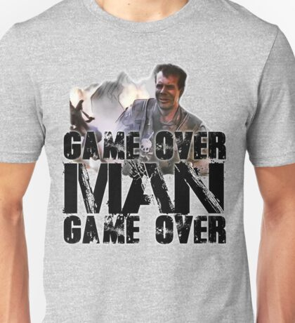 Game Over Man, Game over Unisex T-Shirt