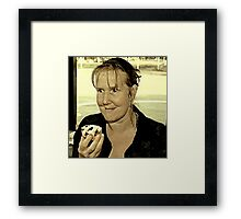 It's Taken A Lot Of Will Power But I've Finally Managed To Give Up Dieting!! Framed Print