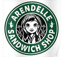 Arendelle Sandwich Shop Poster