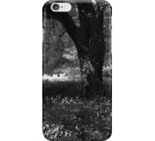 Full summer verdant green, with black veins (i) - photography iPhone Case/Skin