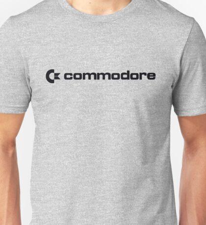 Commodore Logo (Black) Unisex T-Shirt