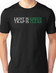 Ghostbusters - Light Is Green, Trap Is Clean - White Dirty Unisex T-Shirt