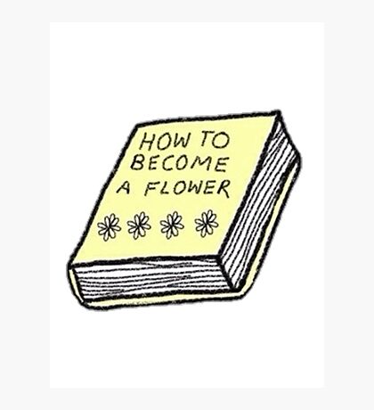 how to become a flower Photographic Print