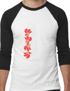 Tulips - Tee Men's Baseball ¾ T-Shirt