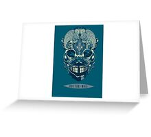Doctor Who BrainStorm Greeting Card