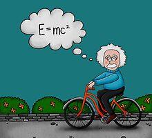 Albert Einstein by mmducoing