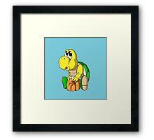 Poopa Troopa (boy) Framed Print