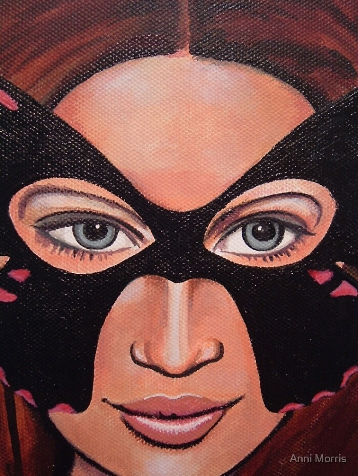 Masquerade by Anni Morris