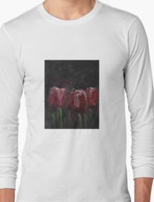 Saucy Tulips Long Sleeve T-Shirt