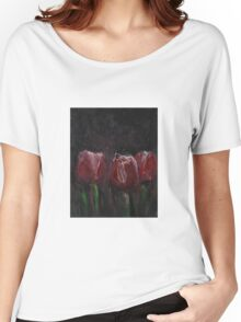 Saucy Tulips Women's Relaxed Fit T-Shirt